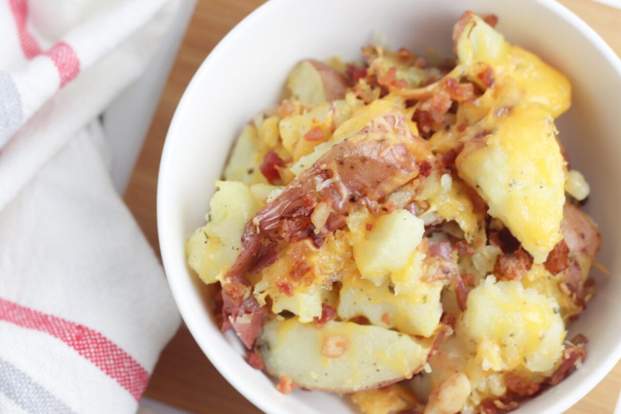 Ranch Smashed Potatoes