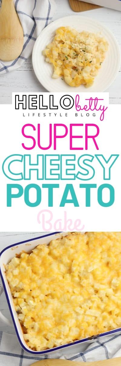 Cheesy Potato Bake Casserole