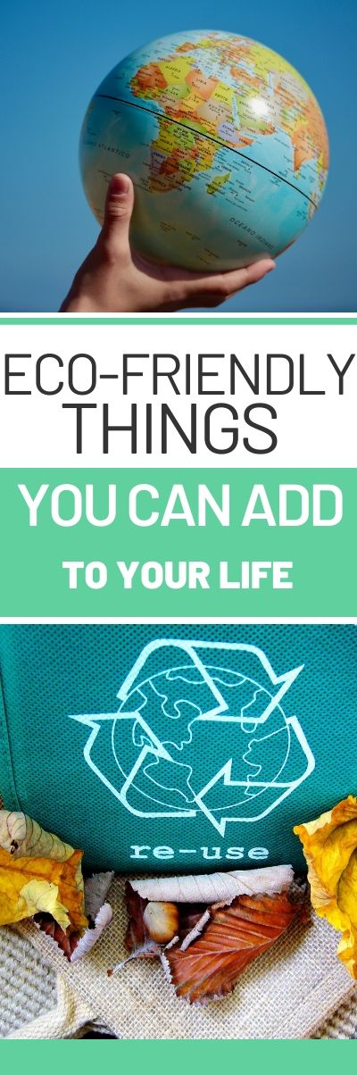 ECO FRIENDLY THINGS YOU CAN ADD TO YOUR LIFE