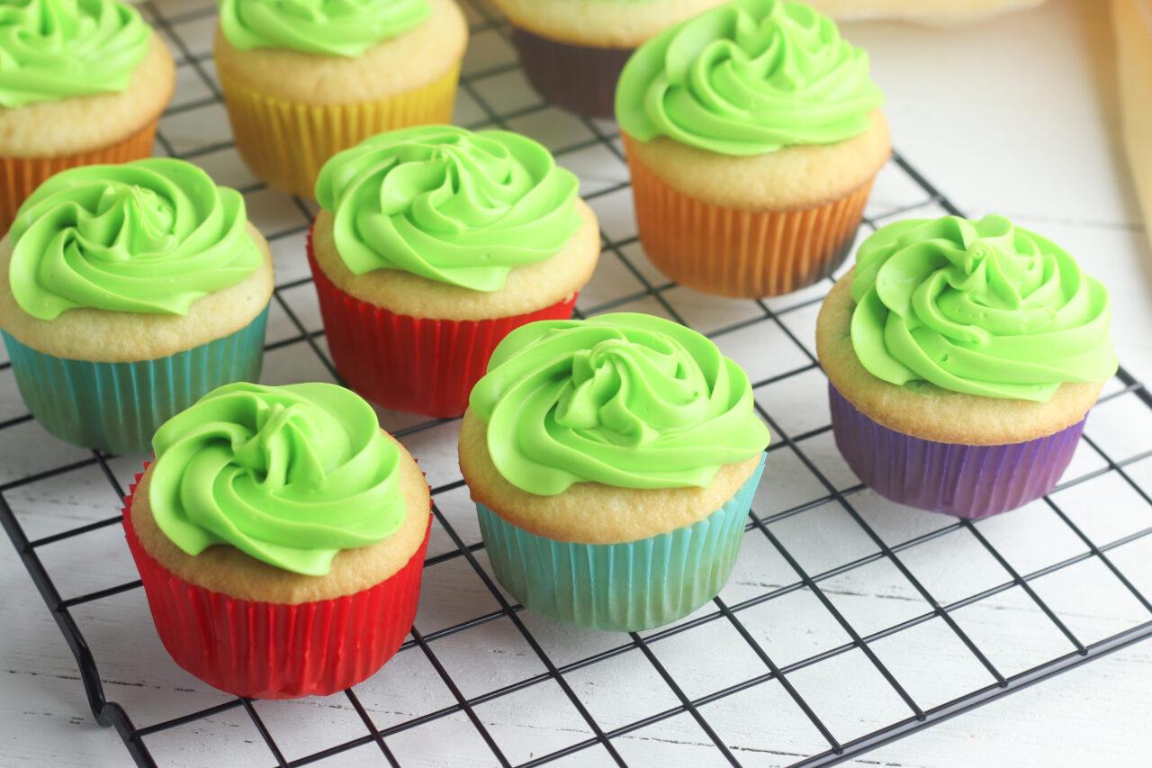 sharmrock cupcakes