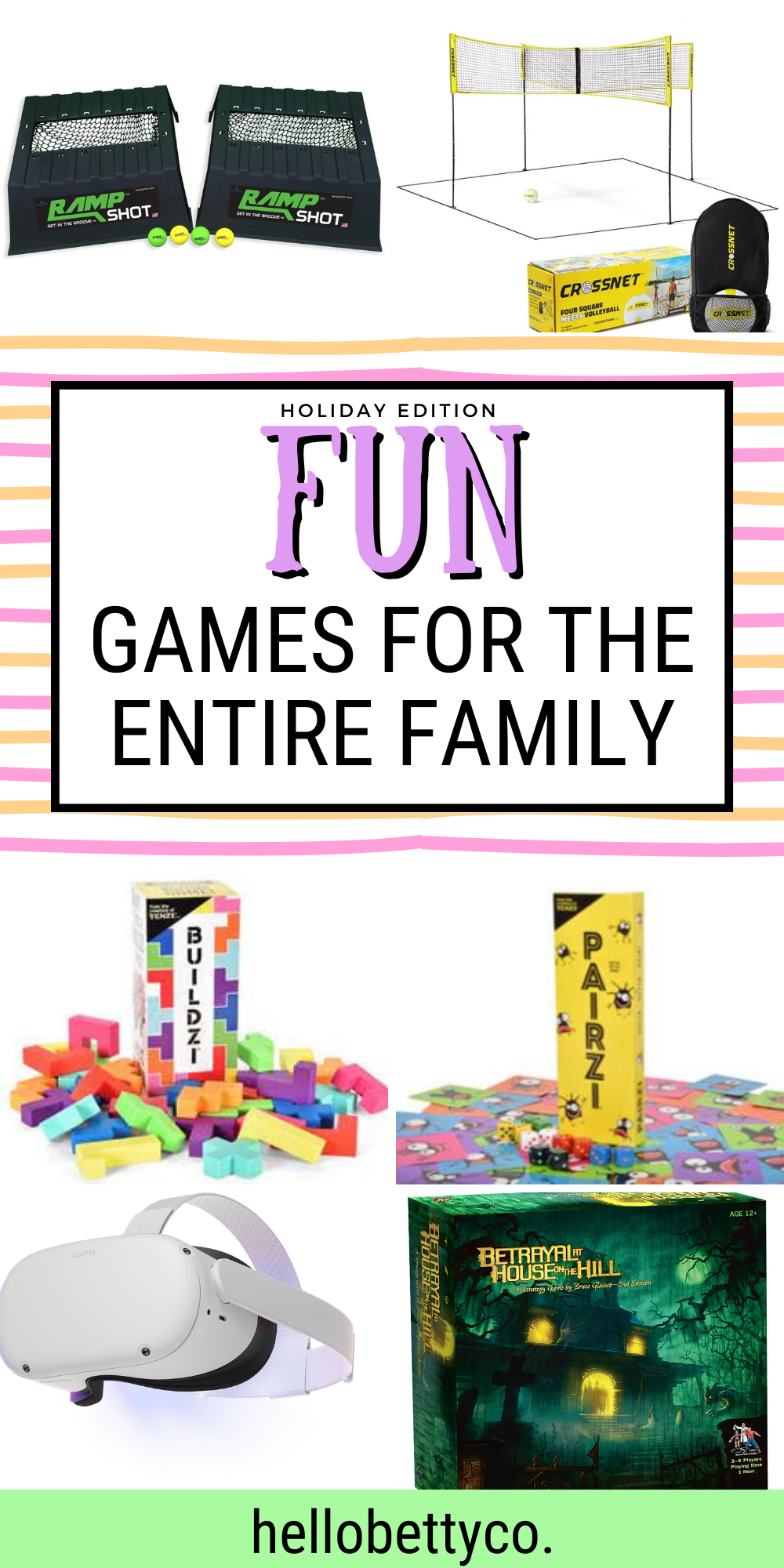 fun games for the entire family
