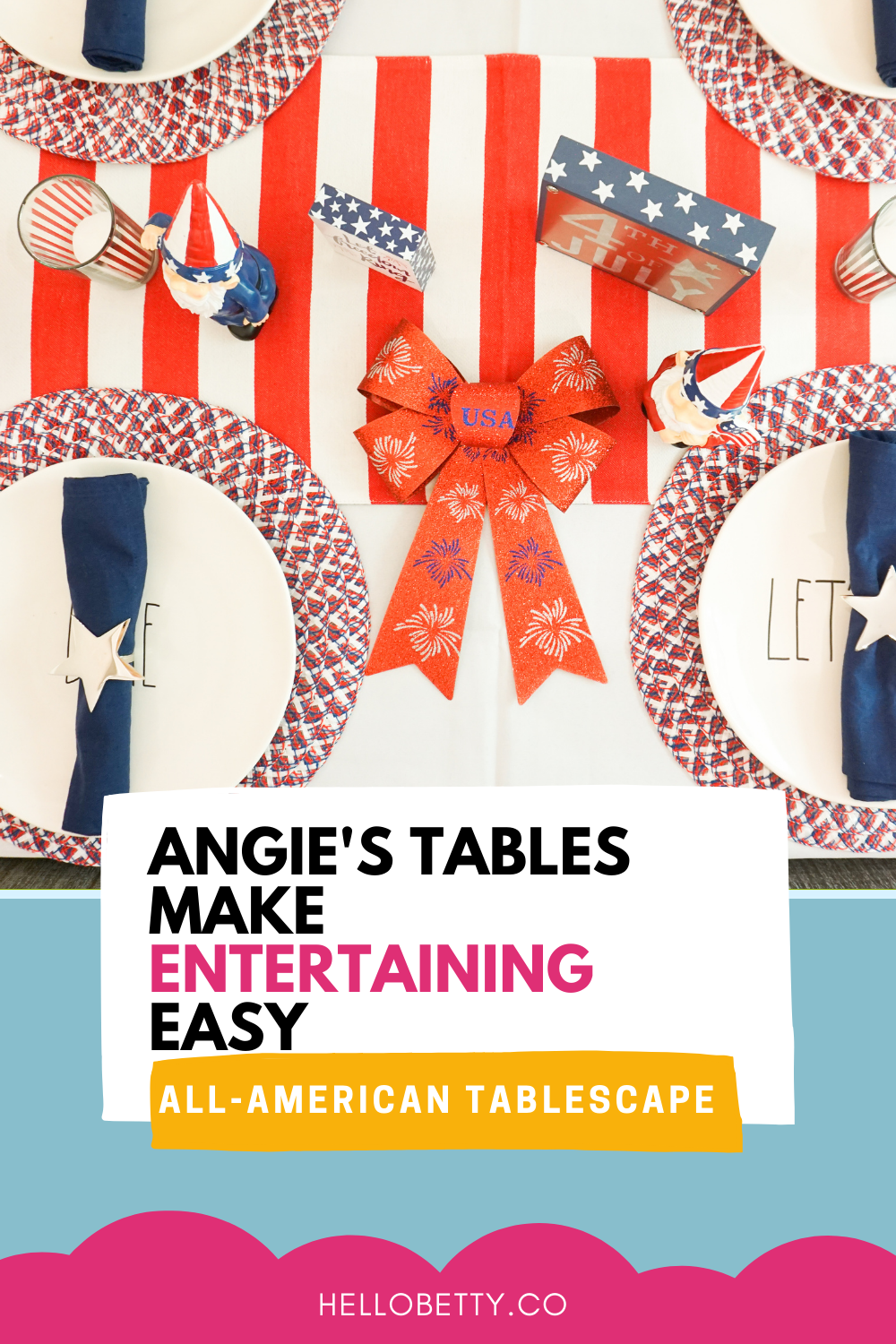 Angie's Tables Make Entertaining Easy