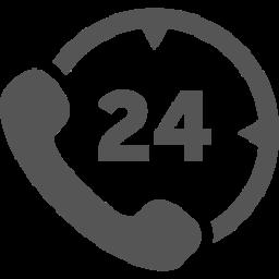 24-hour customer service