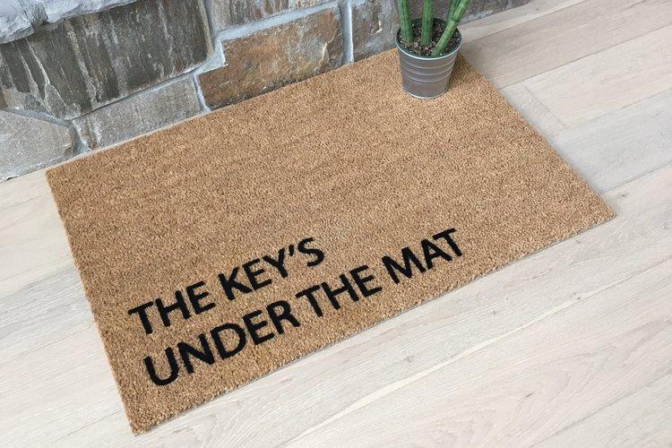 Key+under+doormat+DIY+Protection