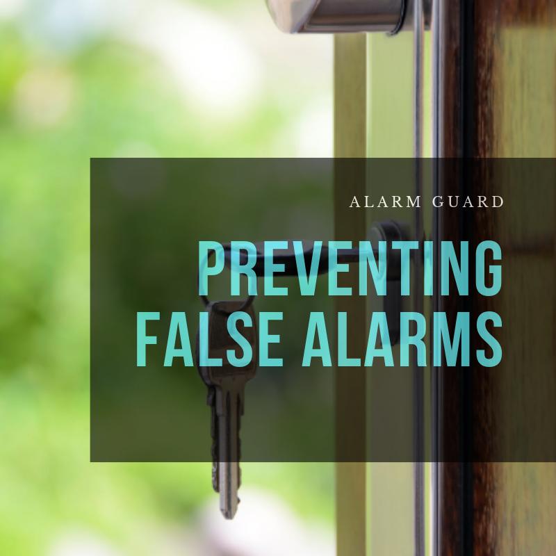 preventing false home alarms