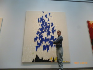 Art is everywhere at the Clyfford Still Museum!