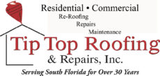 Tip Top Roofing & Repairs Inc.