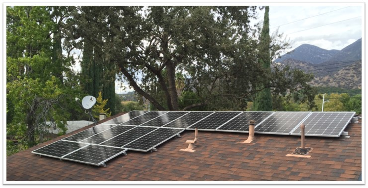 Solar Electric Install
