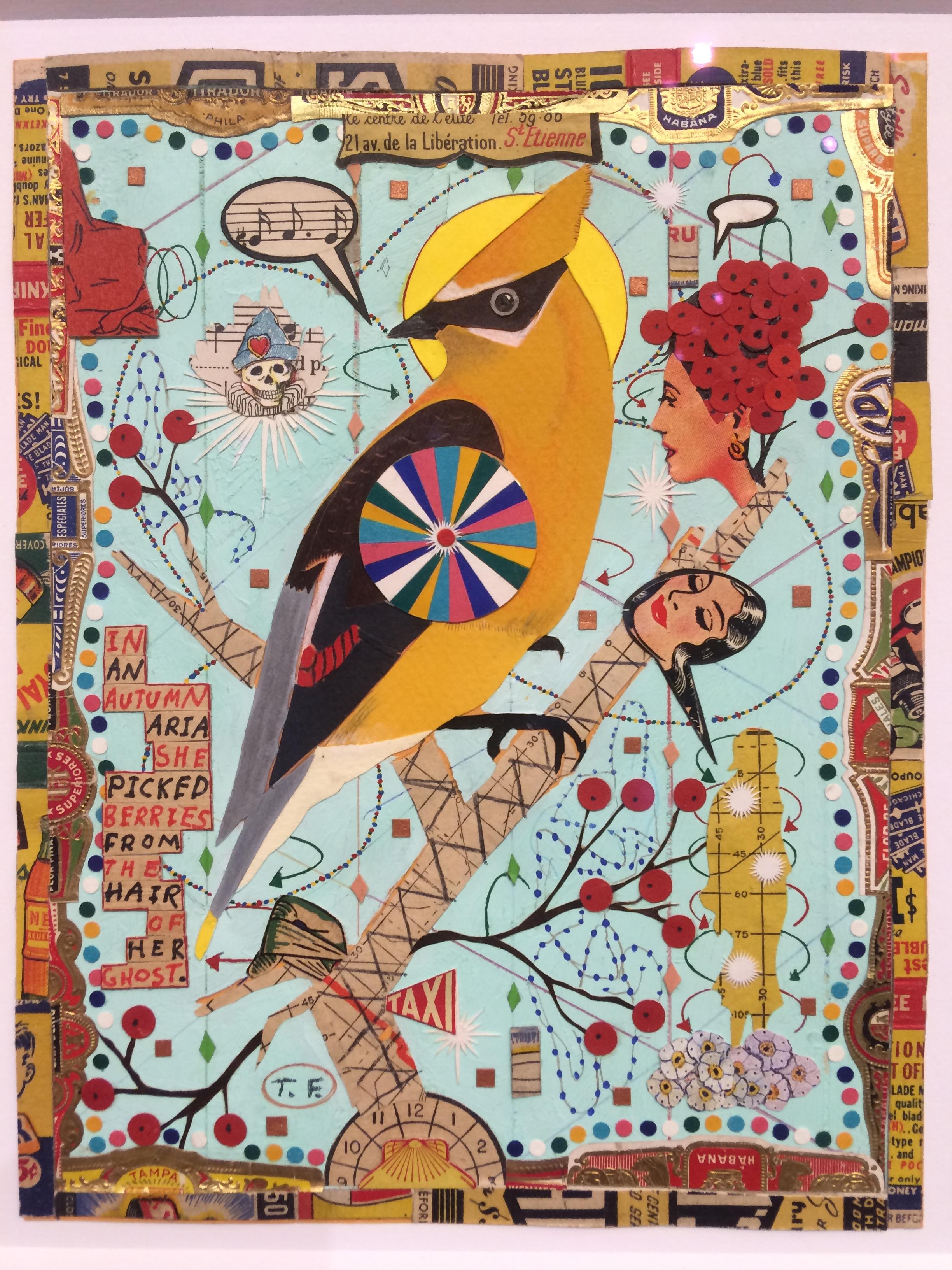 Autumn Holy Bird, Tony Fitzpatrick