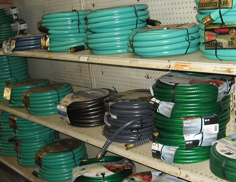 hoses all sizes hardware store
