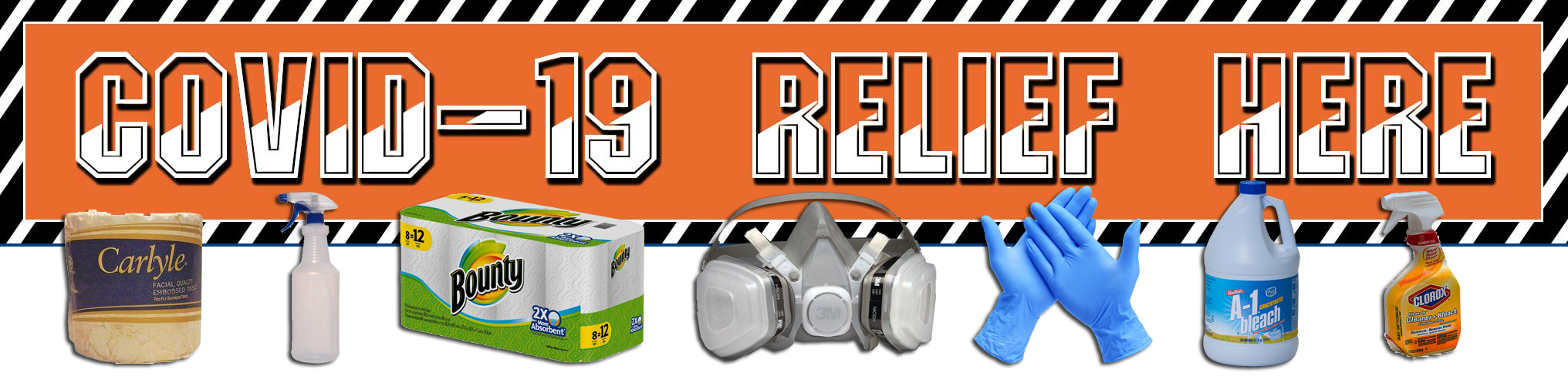 covid 19 supplies relief cleaning