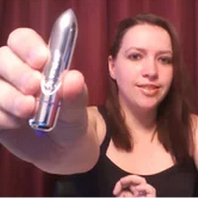 Destiny on the Amazing Rocks Off 80mm Bullet Vibrator