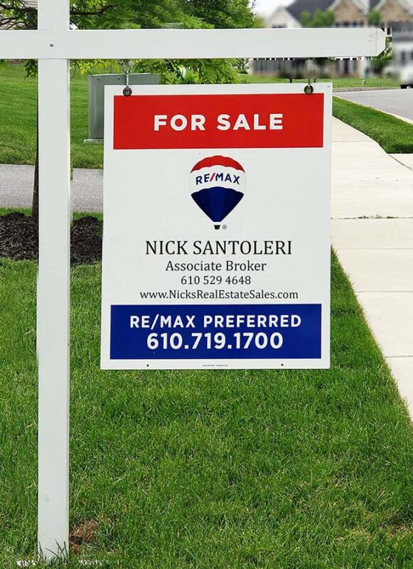 For Sale Sign Selling a House in Eagleview photo