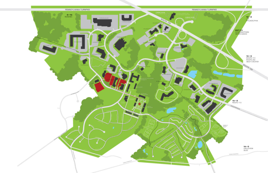Maps Eagleview Parking