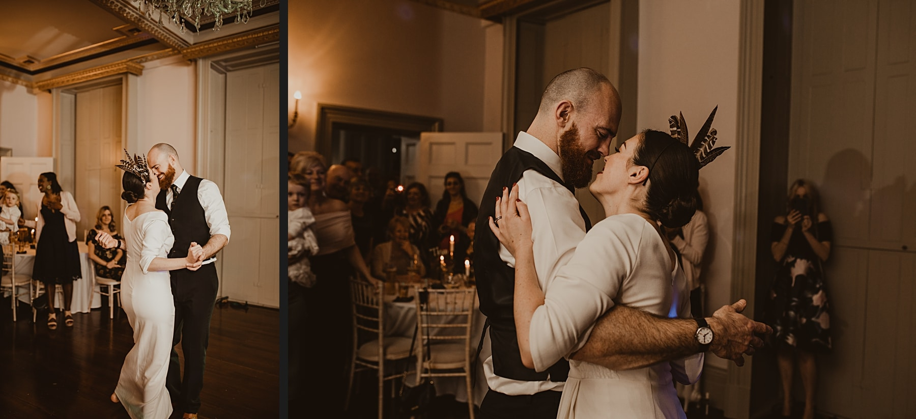 First Dance- Alternative wedding photography