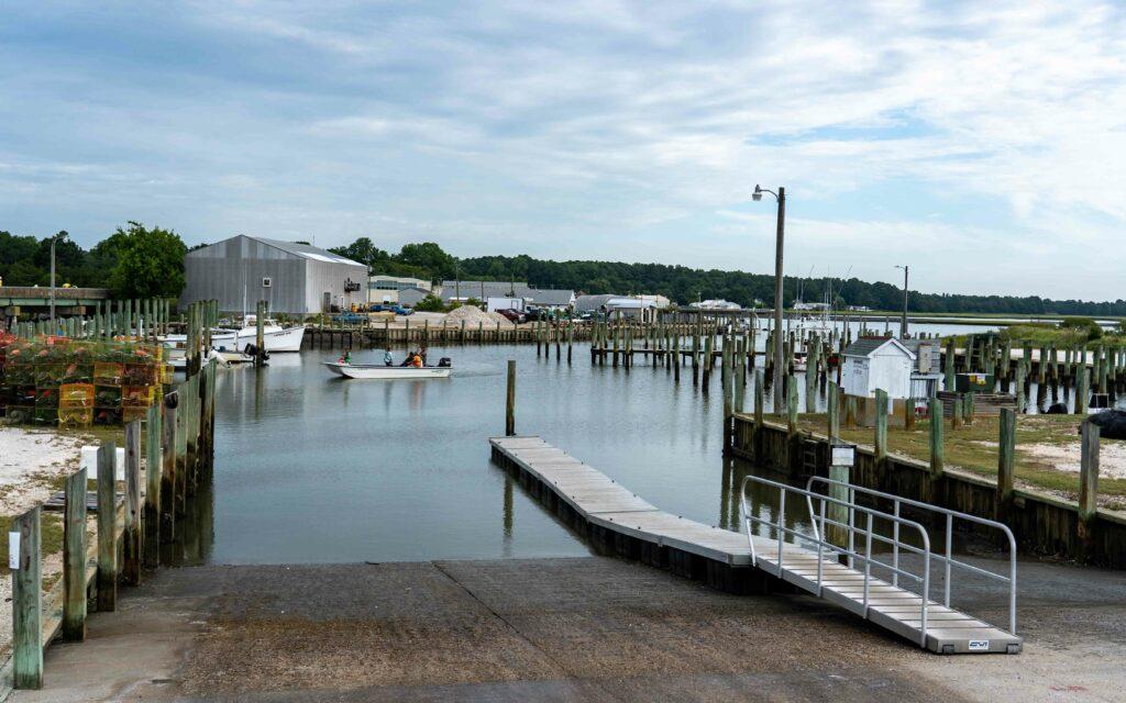 Willis Wharf, VA Public Boat Ramp