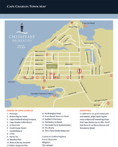 Cape Charles Town Map