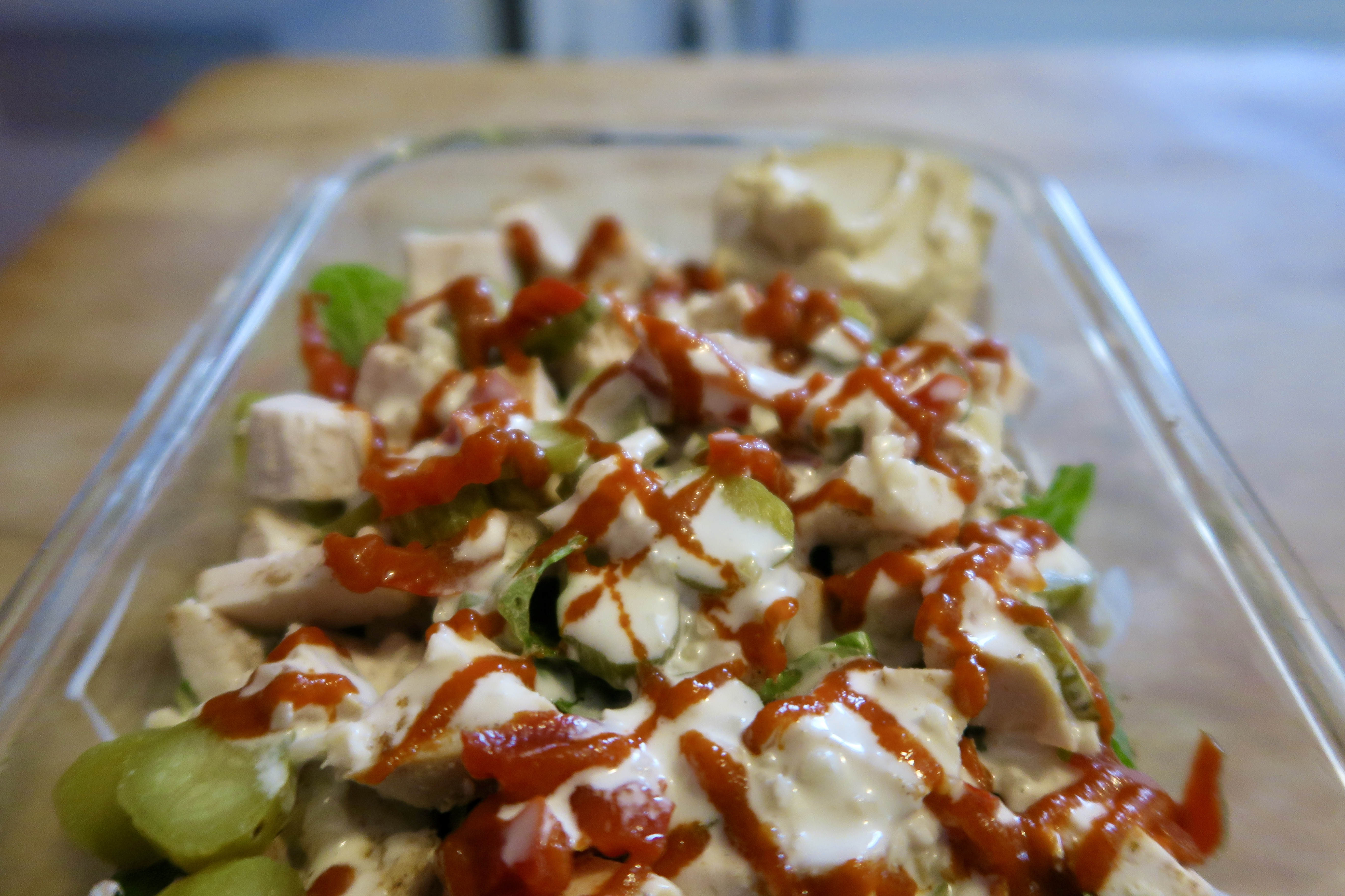 Shawarma salad 2
