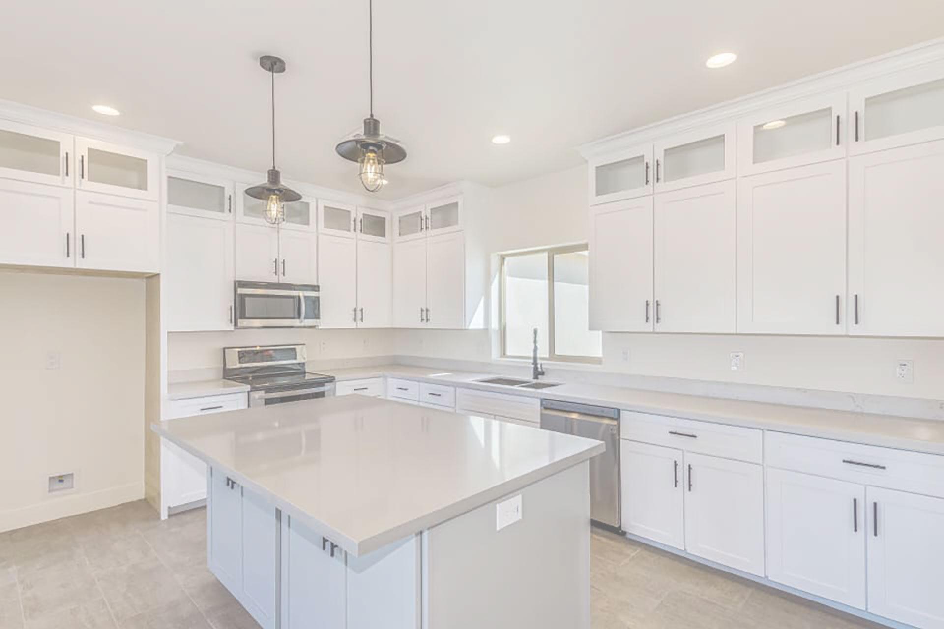 White Kitchen Remodel