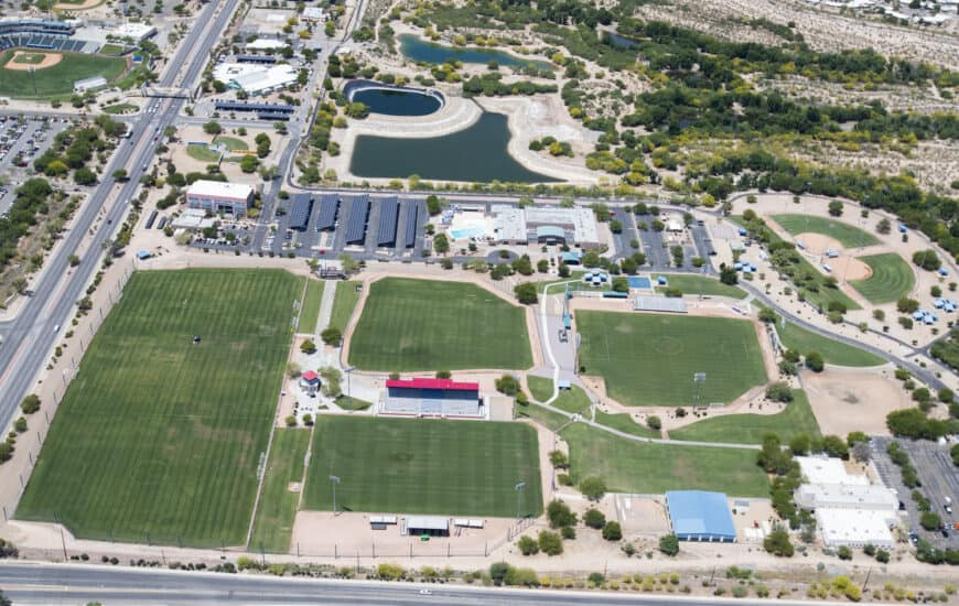 Kino North Complex aerial