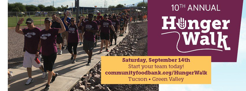 Community Food Bank Kino Sports Complex Hunger Walk