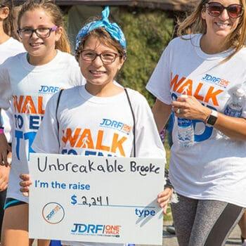 juvenile diabetes walk