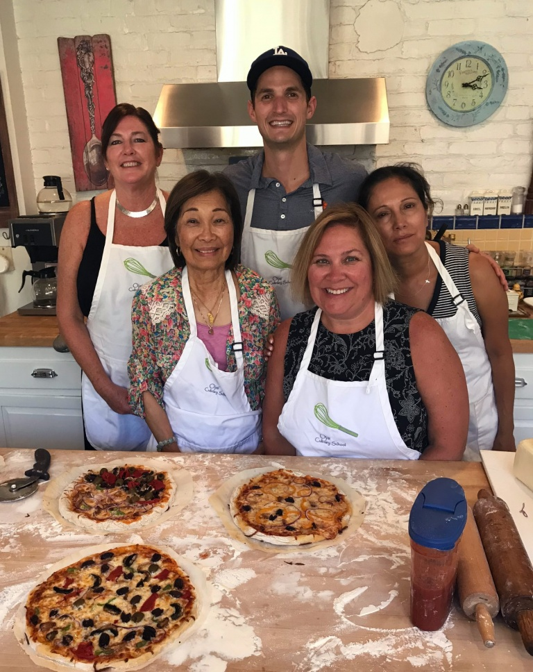 Culinary Students in Ojai, CA/Lavender Inn, bed and breakfast