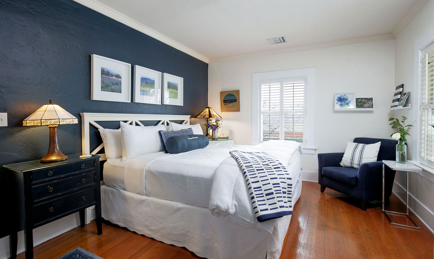 Rooms and amenities at Ojai, CA/Lavender Inn, bed and breakfast