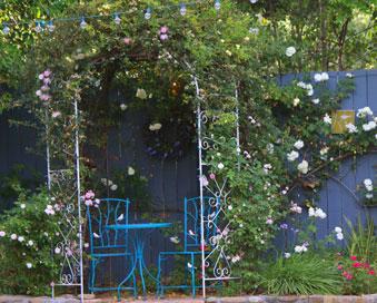 """Gazebo in Ojai, CA/Lavender Inn, bed and breakfast"""""""