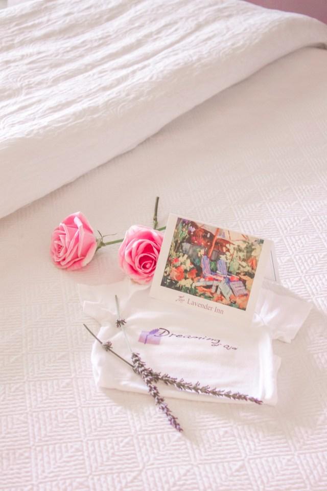 Babymoon photoshioot at Ojai, CA/Lavender Inn, bed and breakfast