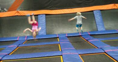 Jump, bounce, climb, flip, and more at Skyzone