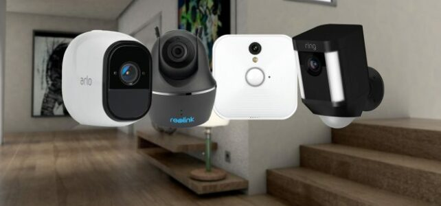 PAVS home security camera installation