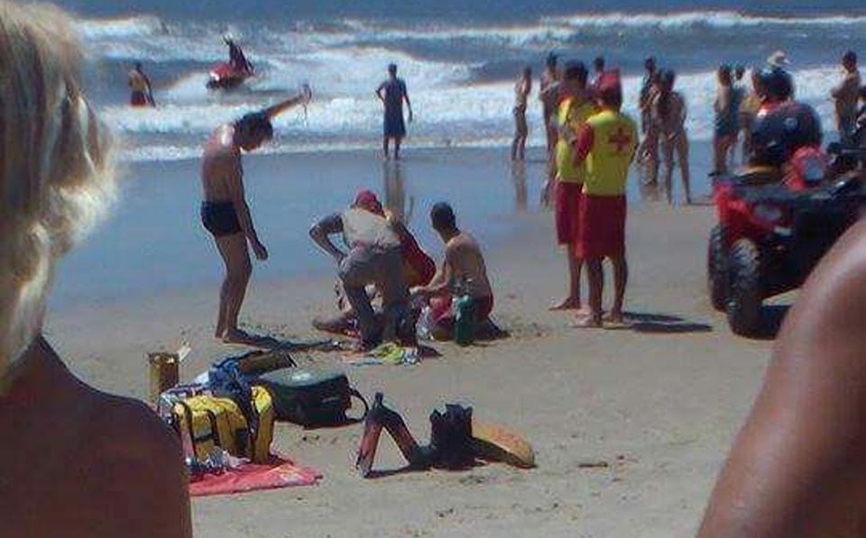 Photo of Tragédia em Guaratuba: pai e filho se afogam. O jovem não resistiu