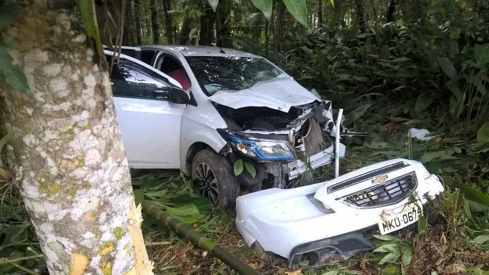 Photo of Mulher morre em acidente na rodovia Alexandra-Matinhos