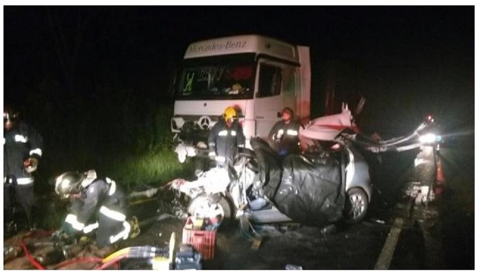 Photo of Seis mortos em acidente  na divisa do PR com SC