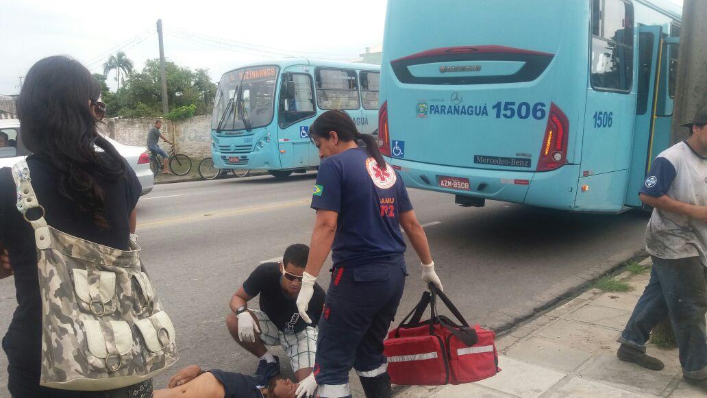 Photo of Ciclista é atropelado por ônibus no Parque São João