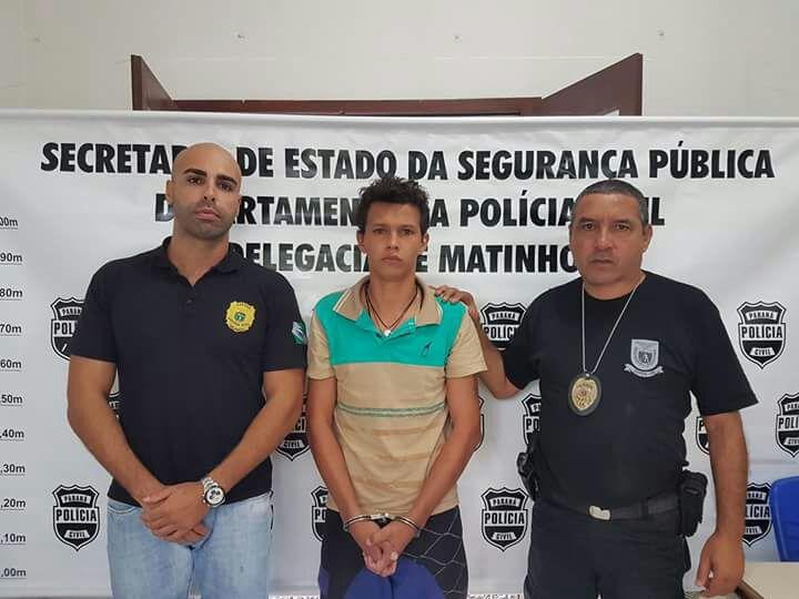 Photo of Preso em Matinhos rapaz acusado de estuprar menina de três anos