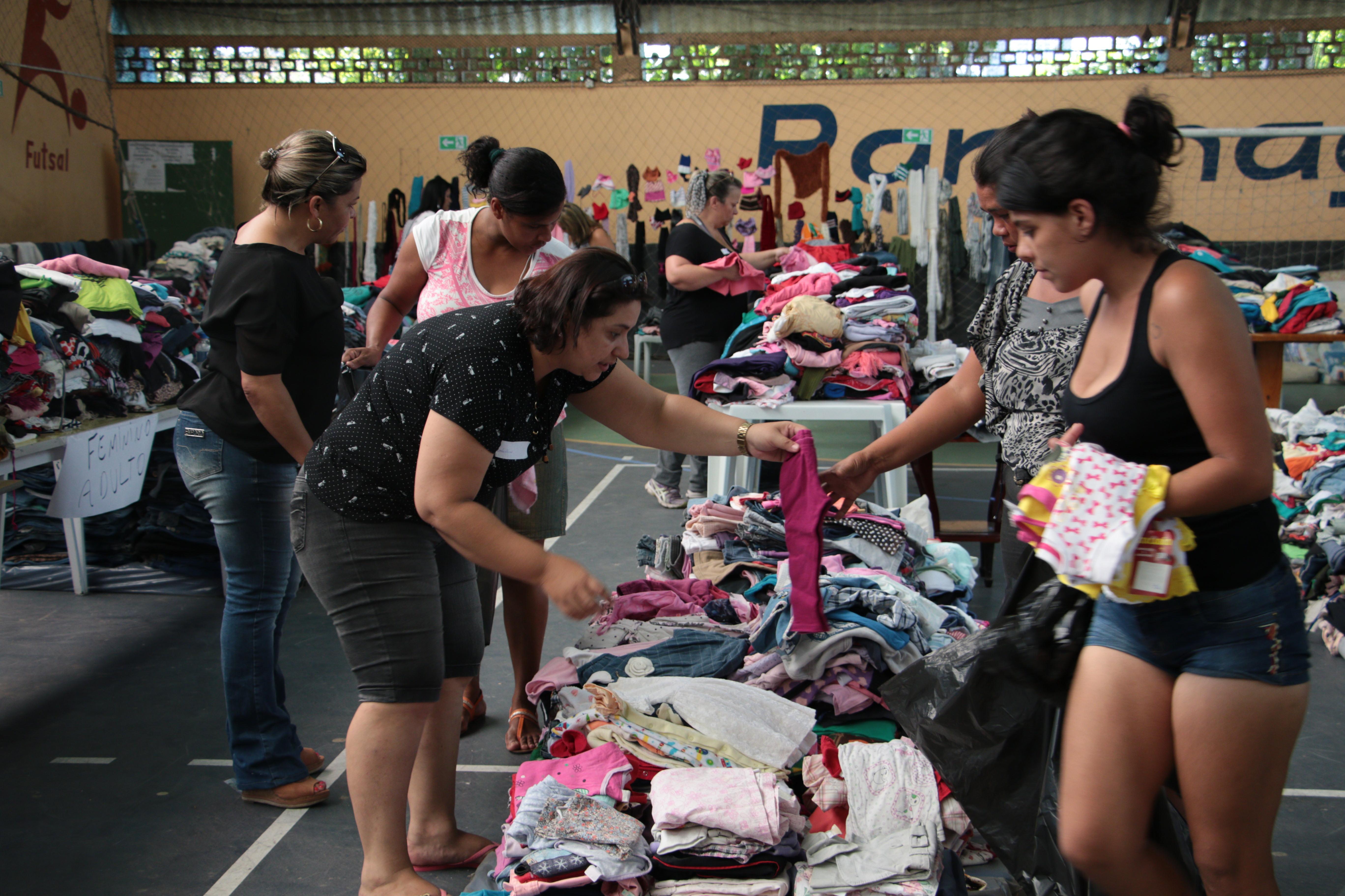 Photo of Paranaguá segue arrecadando  doações para vítimas da chuva
