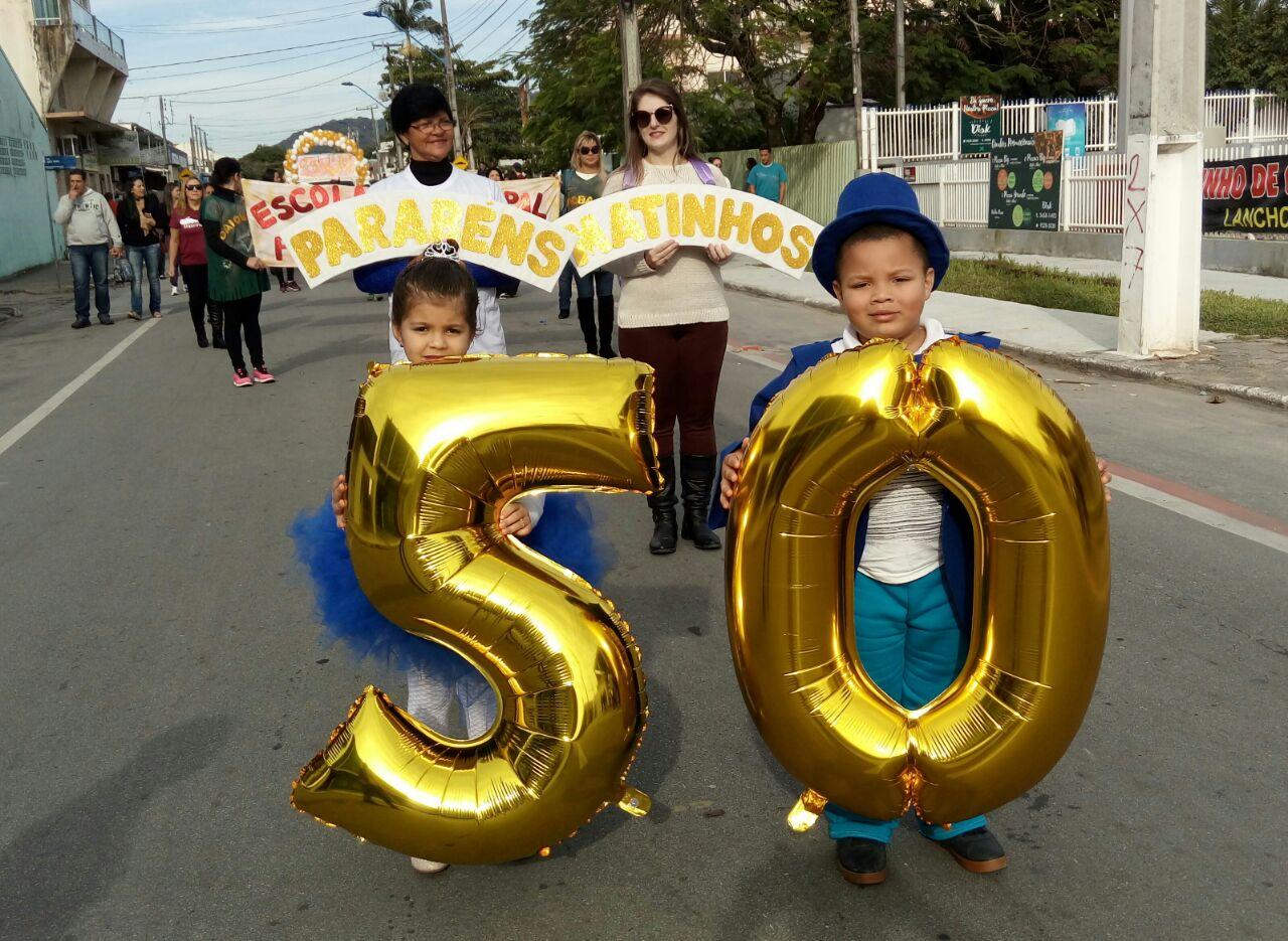 Photo of Ato cívico e desfile marcam 50º aniversário de Matinhos