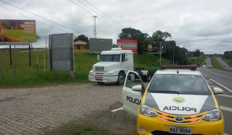 Photo of Preso falso caminhoneiro que sumia com cargas na 277