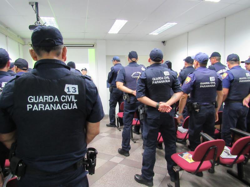 Photo of GCMs passam por capacitação para portar arma de fogo