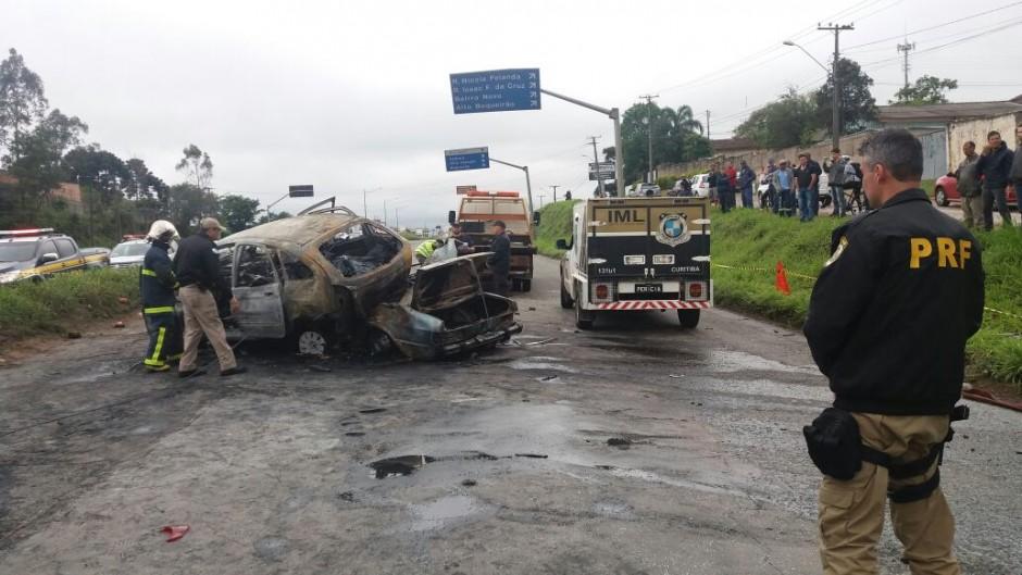Photo of PRF registra dez mortes durante o feriado no Paraná