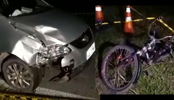 Photo of Jovem de 24 anos morre atropelada na Alexandra-Matinhos