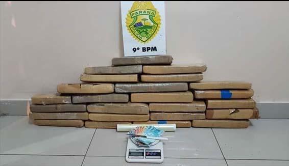 Photo of Três pessoas detidas e apreendidos 20kg de maconha em Guaratuba