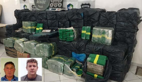 Photo of Pai e filho tinham quase três toneladas de maconha em São José dos Pinhais