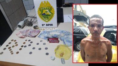 Photo of PM prende homem por tráfico de drogas no Centro Histórico