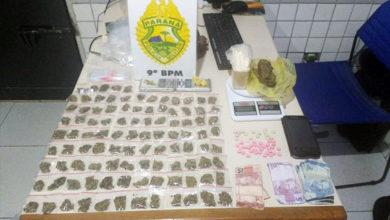 Photo of PM apreende mais de um 1 Kg de drogas e prende três na Vila dos Comerciários