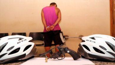 Photo of Homem é preso após roubo à mão armada