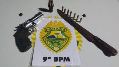 Photo of Violência doméstica termina com suspeito preso e revólver apreendido em Pontal