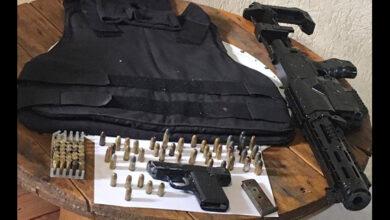 Photo of PM apreende pistola, simulacro e munições após denúncia de agressão
